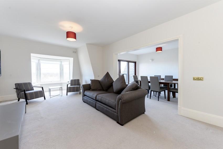 Penthouse B, reception:diningroom