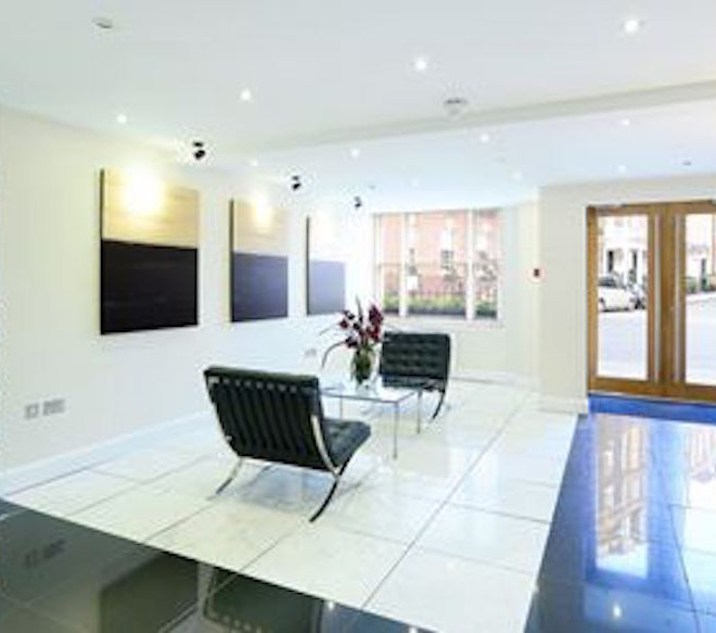 reception area, hill st